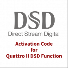 Activation Code for QUATTRO II DSD Function