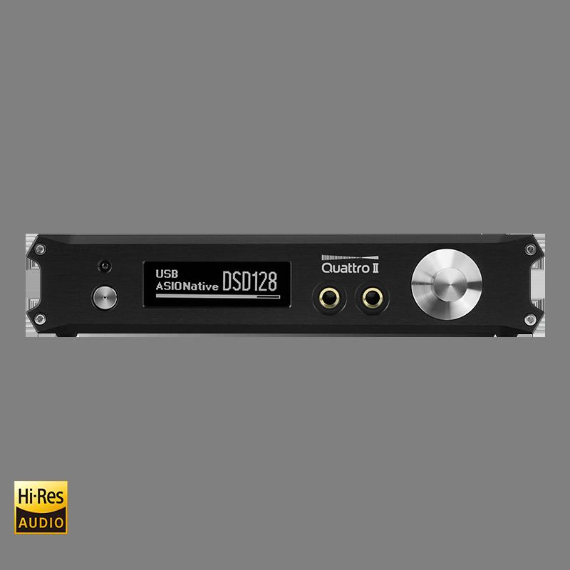 QUATTRO II 32Bit/384kHz DAC & Preamp & Headphone AMP